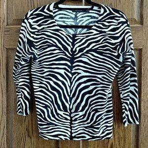 Lightweight sweater top.